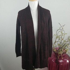 Daytrip burgundy cardigan.